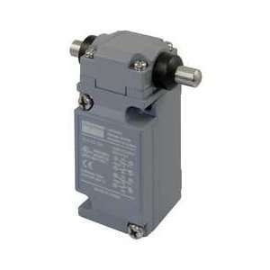 Dayton 12T842 Limit Switch, DPDT, Horiz, Side Push Rod