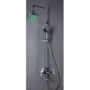 Faucetland 024001979 Single Handle Wall Mount Rain Shower Faucet with