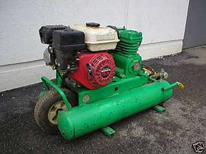 Emglo Air Compressor twin tank