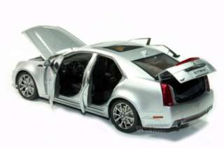 KYOSHO 2009 CADILLAC CTS V DIE CAST 1/18 SILVER NEW