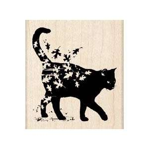 Fall Collection   Wood Mounted Stamps   Cat