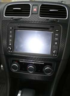 Golf 6 MK6 GTI Air Conditioner Vent Center Dash Sticker