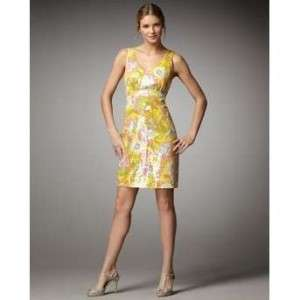 Kate Spade PALEY PAISLEY NAOMI DRESS YELLOW 2 $425 NWT