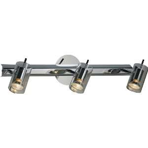 Flash Collection 3 Light 22 Polished Chrome Wall Sconce