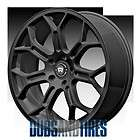 New 17 Inch Motegi MR120 Wheels SATIN BLACK Rims 5X4.75 ET56