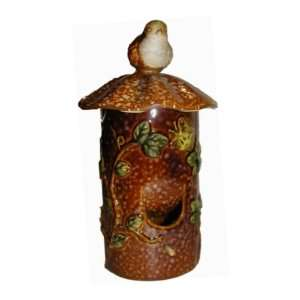 Ceramic Hanging Bird Feeder Patio, Lawn & Garden