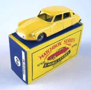MATCHBOX MOKO LESNEY 66 CITROEN DS19, GPW, 1958, MIB