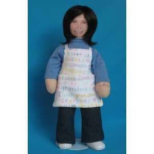 Groovy Grandma Personalized Cloth Doll Toys & Games