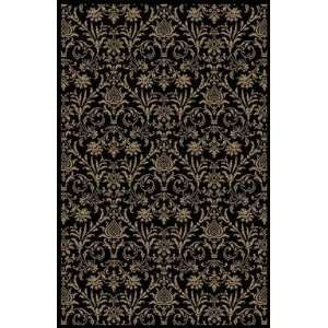 Concord Global   Jewel   4943 Damask Area Rug   53 Round