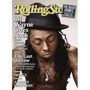 Lil Wayne, 2009 Rolling Stone Cover Poster by Peter Yang