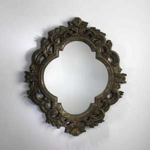 Cyan Lighting 01496 Milena Mirror, Antique Gold Finish