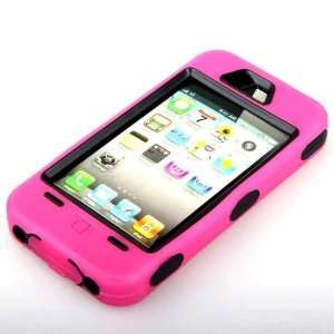 High Quality Protective Bumper Case for iPhone 4G   PINK