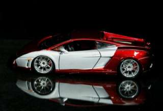Lamborghini Gallardo LP560 4 Maisto CUSTOM SHOP Diecast 124 Scale Red