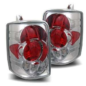 93 98 Jeep Grand Cherokee Chrome Tail Lights Automotive