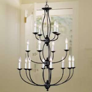 Livex Lighting Home Basics Collection Bronze Chandelier
