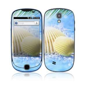 Summer Shell Decorative Skin Cover Decal Sticker for Samsung Gravity