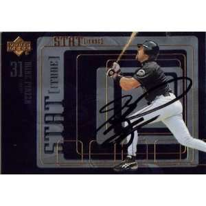 1999 Upper Deck #s17 Mike Piazza Mets Signed Auto Jsa