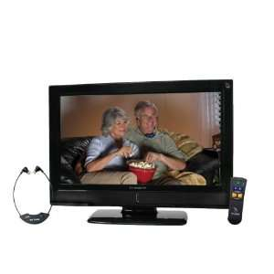 32 Inch LCD HDTV with Anti Glare TV Shield Protector Screen