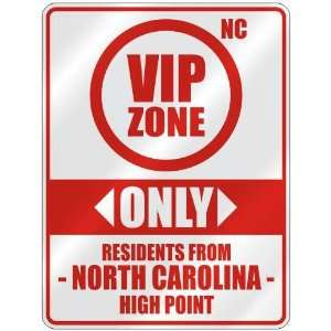 HIGH POINT  PARKING SIGN USA CITY NORTH CAROLINA