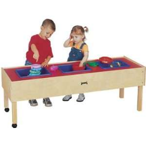 Jonti Craft 3 TUB SENSORY TABLE   TODDLER MINIMAL ASSEMBLY