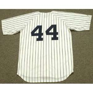 REGGIE JACKSON New York Yankees 1977 Majestic Cooperstown Throwback