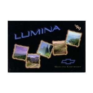 1999 CHEVROLET LUMINA Owners Manual User Guide