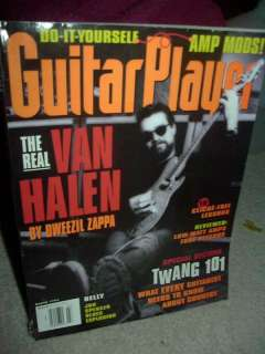 guitar player magazine march 1995 eddie van halen