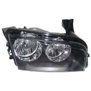 OE Replacement Dodge Charger Passenger Side Headlight Lens