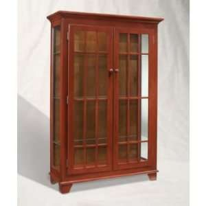 Color Time Monteray 2 Door Display Cabinet Red