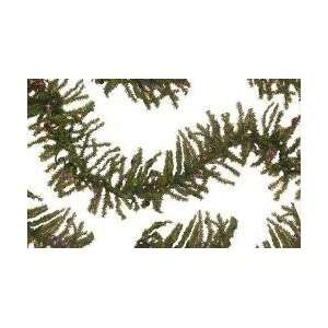 12 Pre Lit Tannenbaum Artificial Christmas Garland   Multi