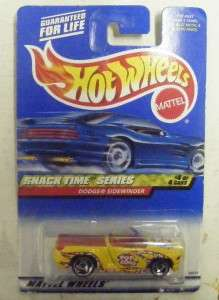 HOT WHEELS SNACK TIME SERIES DODGE SIDEWINDER NIB