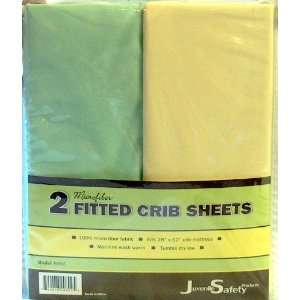 JUVENILLE SAFETY PRODUCTS FITTED CRIB SHEETS Baby