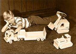 Wooden Toy Construction Truck Plans, children, kids S