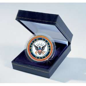 Forces Commemorative Colorized JFK Half Dollar   Navy Toys & Games