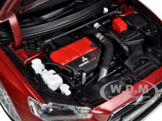 Mitsubishi Lancer Evolution X Red die cast car model by Suntrade