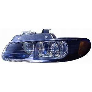 Depo 333 1143P ASN2 Chrysler Town & Country Black Headlight Assembly