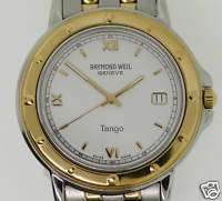 RAYMOND WEIL TANGO SWISS QUARTZ WATCH. NEW CONDITION
