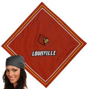 Louisville Cardinals Red Jersey Bandana