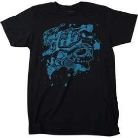 Troy Lee Designs Skullface Slim Fit T Shirt   Large/Black Automotive