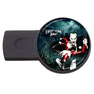 New* HOT HARLEY QUINN JOKER USB Flash Memory Drive 2 gb