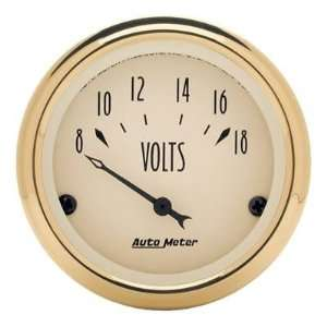 Auto Meter Golden Oldies Analog Gauges Gauge, Golden Oldies, Voltmeter