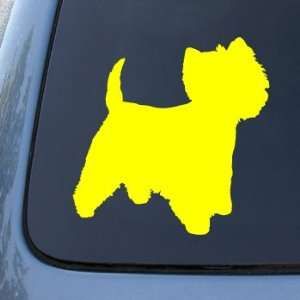 WESTIE 2   Dog   Vinyl Car Decal Sticker #1567  Vinyl