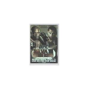 Topps UFC Fight Poster (Trading Card) #UFC82   UFC 82/Anderson Silva