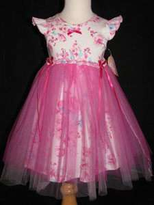 NWT Tralala Summer Tulle Party Dress 24 Months 2T