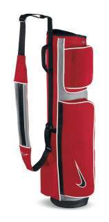 NIKE WEEKEND CARRY Golf Bag   RED/BLACK/METALLIC SILVER