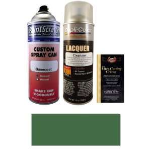 12.5 Oz. Shale Green Metallic Spray Can Paint Kit for 2001 Jeep All