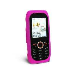 Eforcity Hot Pink Silicone Skin Case for Samsung Intensity U450
