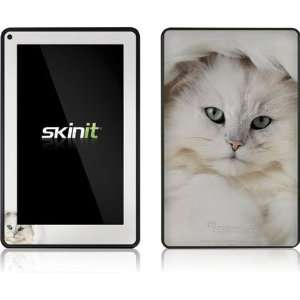 Skinit White Persian Cat Vinyl Skin for  Kindle Fire