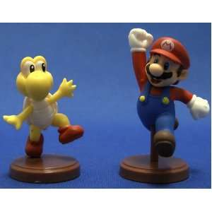 Super Mario Bros Figure Mini Mario Koopa Troopa Set