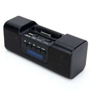 Apple iPhone / iPod   Black/Wireless Mini USB Speakers for iPhone/iPod